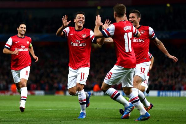 Arsenal v SSC Napoli -  UEFA Champions League