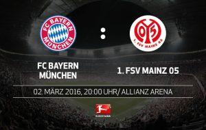 Прогноз и ставки Бавария – Майнц, Бундеслига (02.03.2016)