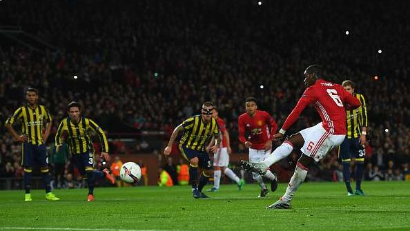Манчестер Юнайтед побеждает Фенербахче