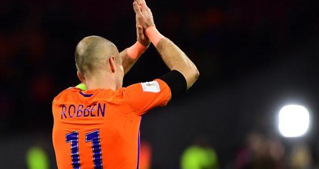 Арьен Роббен завершил карьеру в сборной Голландии